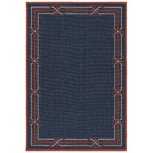 Ciaran Navy Indoor/Outdoor Area Rug