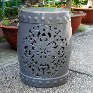 Top Nieto Ceramic Garden Stool ByHouse of Hampton