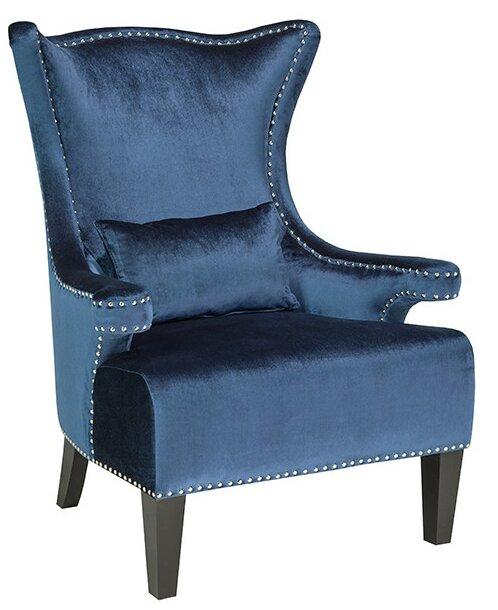 Clarkston Nail Head Trim Wingback Chair