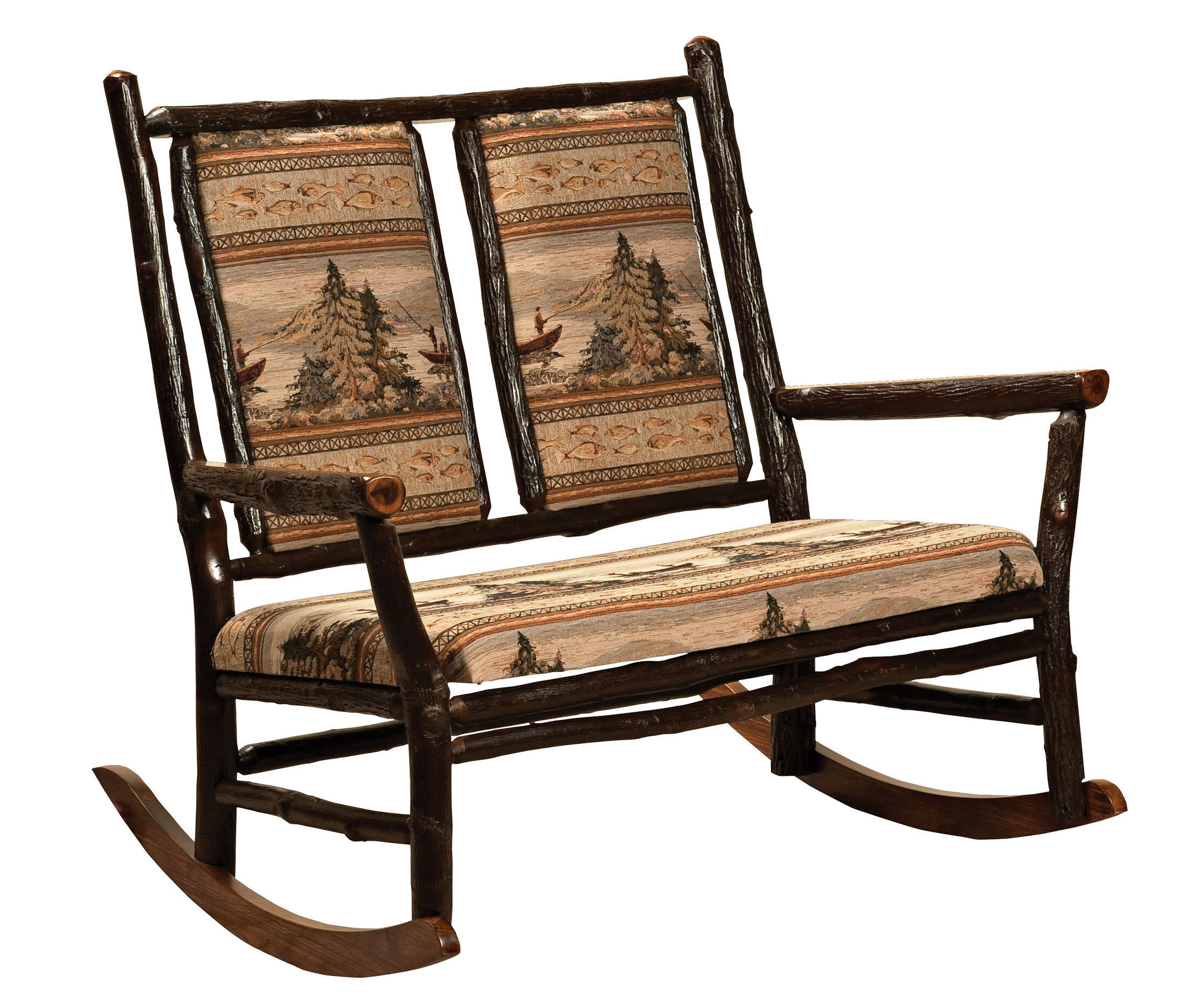 Loon Peak Queens Double Rocking Chair | Wayfair