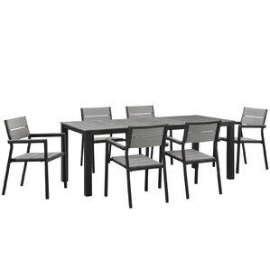 Ellport 7 Piece Outdoor Patio Dining Set