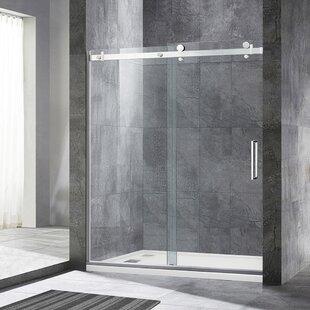 Looking for 60 x  76 Single Sliding Frameless Shower Door ByWoodBridge