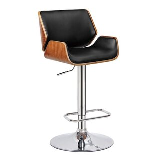 Guisborough Adjustable Height Swivel Bar Stool by Corrigan Studio Bargain