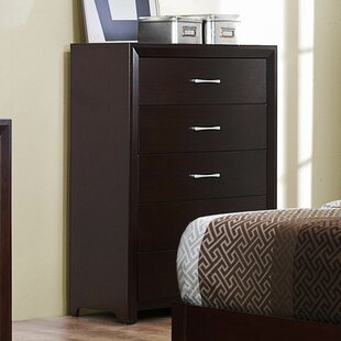 Edina 5 Drawer Chest by Woodhaven Hill Great price