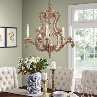 Guglielmo 5-Light Candle Style Chandelier by Birch Lane™ Heritage