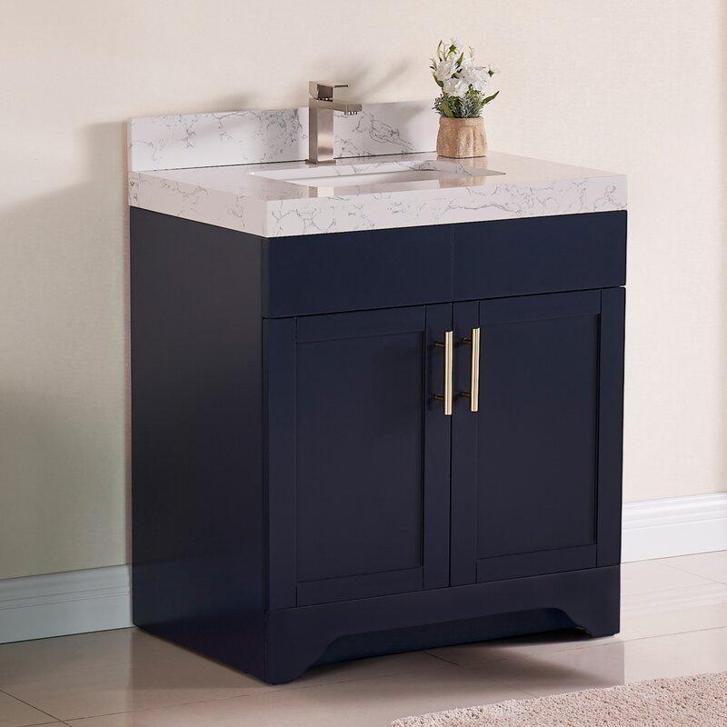 Wrought Studio Exquisite Home 30 Single Bathroom Vanity Set Reviews Wayfair