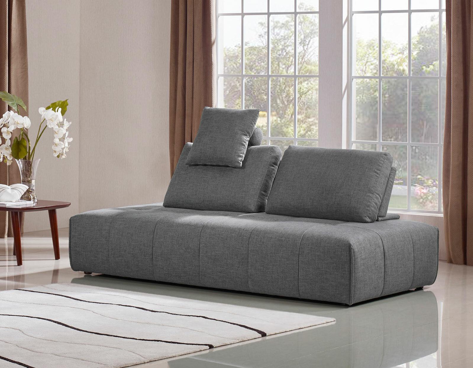 Orren Ellis Siris 42 Armless Sofa Bed Wayfair