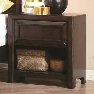 Roark Wooden 1 Drawer Nightstand