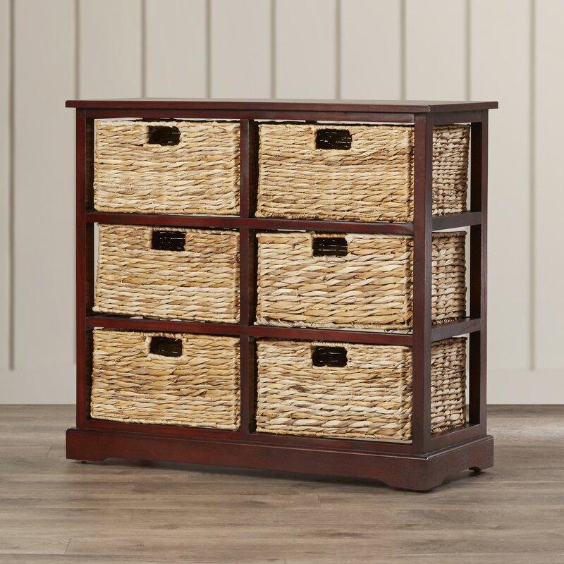 Attirant Clarion 6 Basket Storage Chest