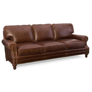 Aaron Leather Sofa
