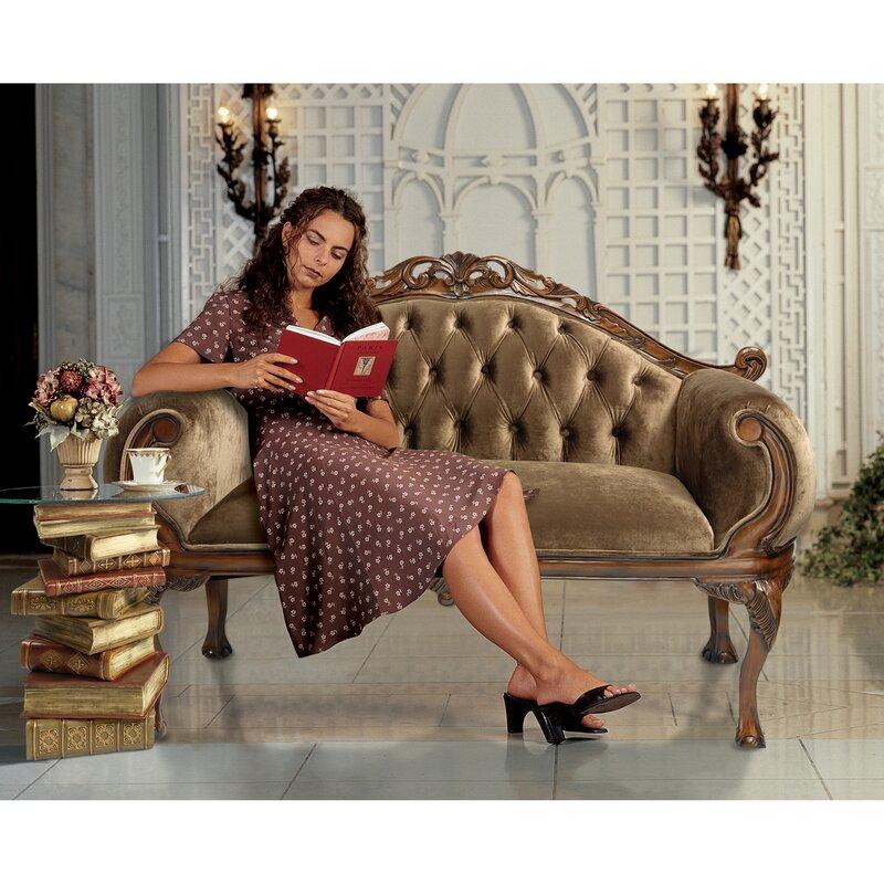 Mademoiselle Moreauu0027s French Salon Settee Sofa