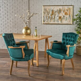 Order Aguon Upholstered Dining Chair (Set of 2) by One Allium Way Reviews (2019) & Buyer's Guide