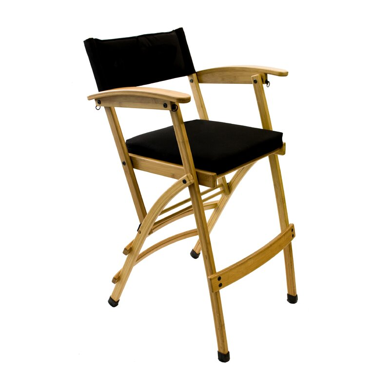 Folding Director Chair With Cushion