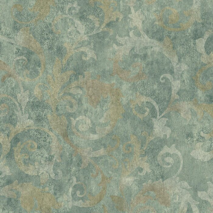 Bianca 27 X 27 Abstract 3d Embossed Roll Wallpaper