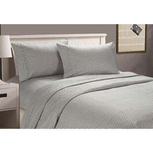 Gleneagles Soft Touch Printed Microfiber Sheet Set