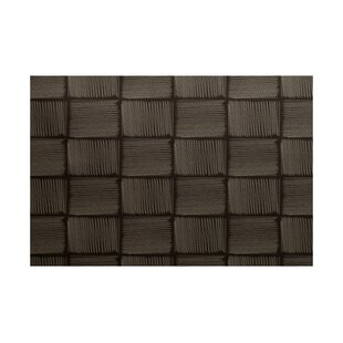 Ursae Geometric Print Brown Indoor/Outdoor Area Rug