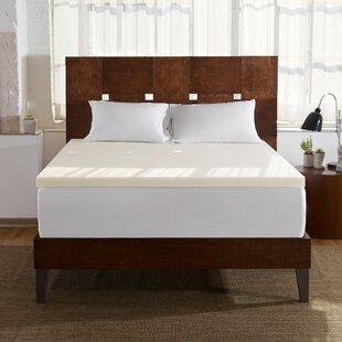 2 Memory Foam Mattress Topper by Sleep Innovations