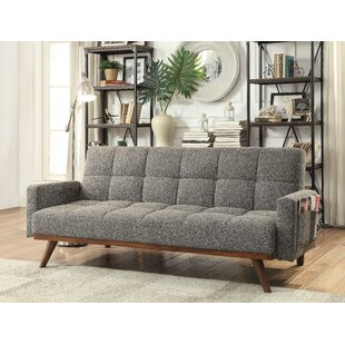 futon sectional chaise espresso pisition and white modern forley