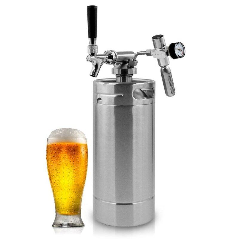 0.18 cu. ft. Single Tap Beer Dispenser