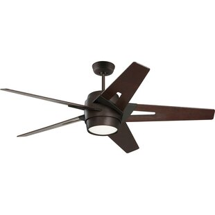 Compare prices 54 Karla 5 Blade Ceiling Fan By Corrigan Studio