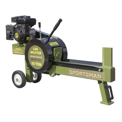 Offex 10 Ton Gas Powered Kinetic Log Spitter Plastic Fireplace Tool