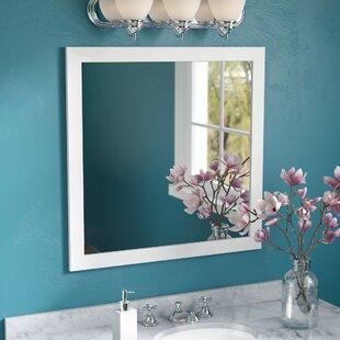 Affordable Price Square Wood Frame Vanity Wall Mirror ByRed Barrel Studio