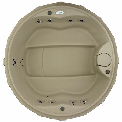 AquaRest Spas Select 200 5-Person 20-Jet Plug and Play Hot Tub with LED Waterfall