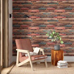 embarcadero bleaching timber 709 l x 473 w peel and stick wallpaper tile