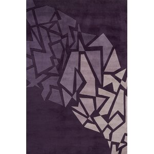Rita Hand-Tufted Purple Area Rug