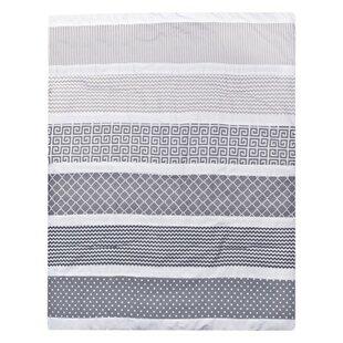 Towne Gray 3 Piece Crib Bedding Set