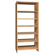 Glacier Double Face 84 Standard Bookcase by Ironwood