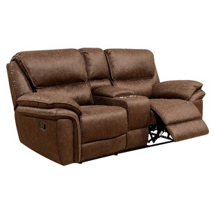 Shop Tello Reclining Loveseat by Millwood Pines