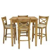 Weissman 5 Piece Pub Table Set by Red Barrel Studio®