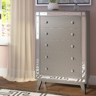 Alessia 5 Drawer Chest by Willa Arlo Interiors Wonderful
