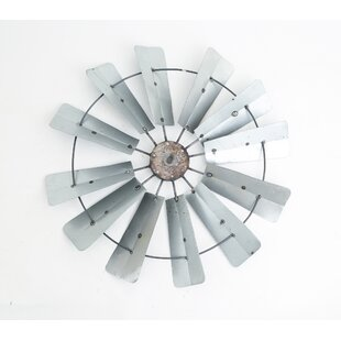 Galvanized Full Windmill Wall D?cor by Williston Forge