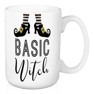 Arrington Basic Witch with Shoes 15 oz Coffee Mug