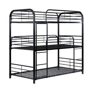 Warrington Metal 3 Tier Twin Bunk Bed