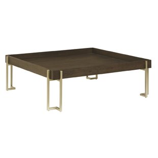 Maone Square Console Table with Tray Top