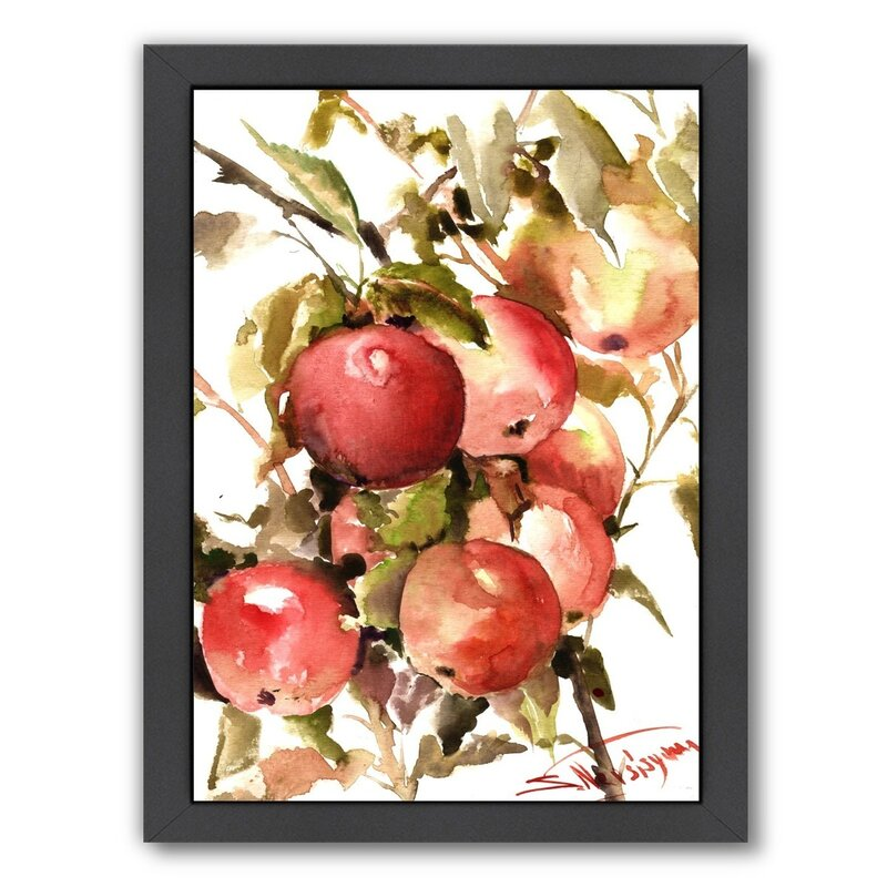 'Apples' Framed Painting Print