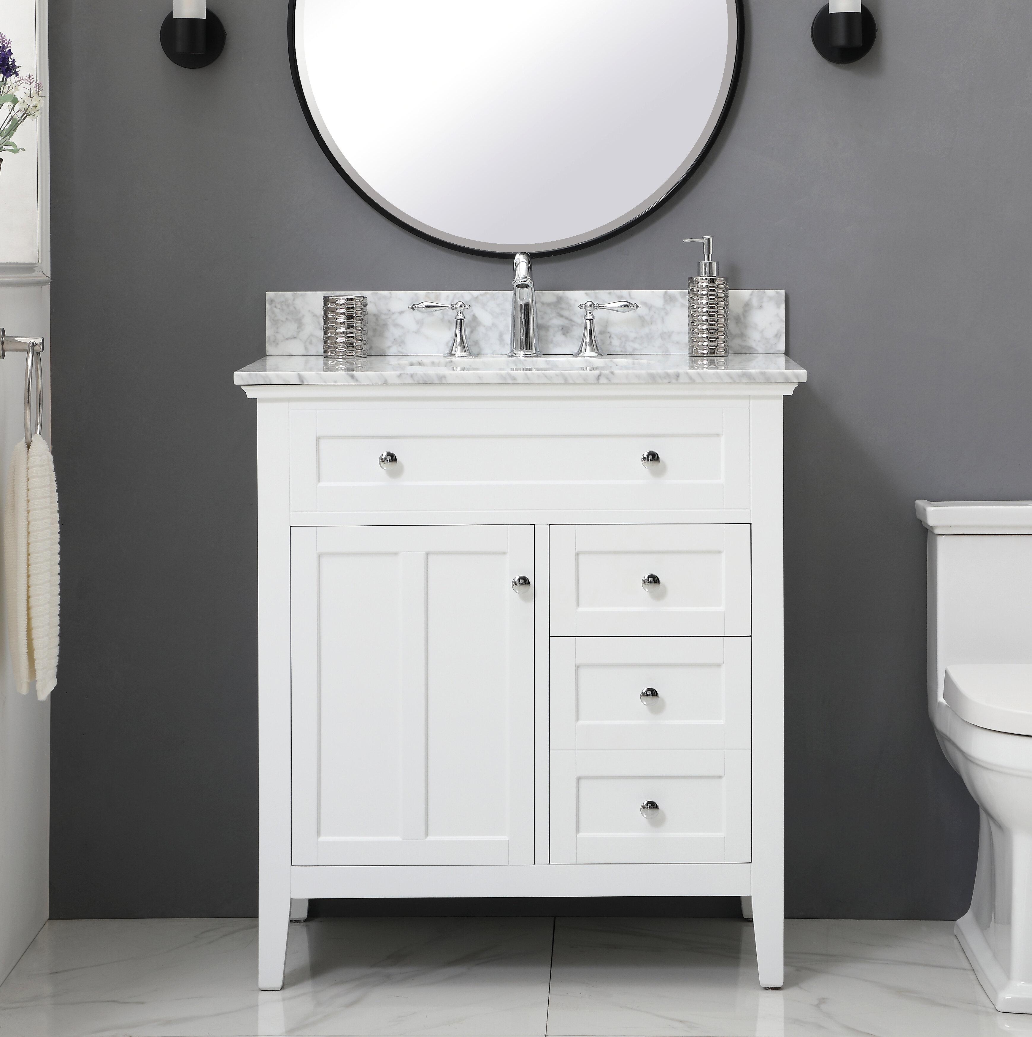 Andover Mills Waut 32 Single Bathroom Vanity Set Reviews Wayfair