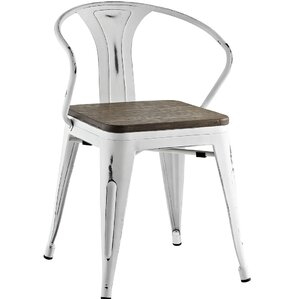 Ashlyn Arm Chair with Slat Back by Williston Forge