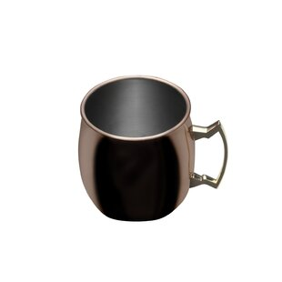Plated Moscow Mule Hammered 18 oz. Copper Mug