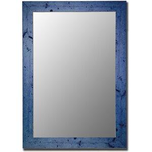 Dorian Vintage Blue Barnwood Wall Mirror