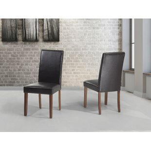 Ewing Upholstered Dining Chair (Set of 2) Alcott Hill