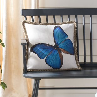 Horrocks Ellia Butterfly Throw Pillow