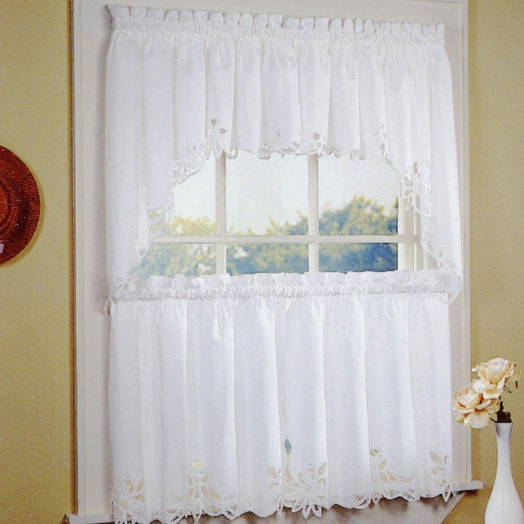 One Allium Way Fairhope Cafe Curtain Wayfair
