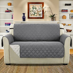 Diamond T-Cushion Loveseat Slipcover