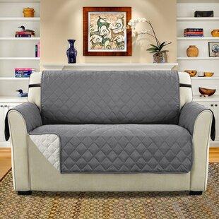 Diamond T-Cushion Loveseat Slipcover