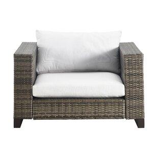 modern contemporary outdoor wicker chair allmodern rh allmodern com