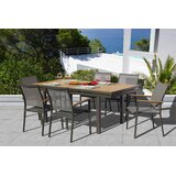 Chouinard 7 Piece Teak Dining Set